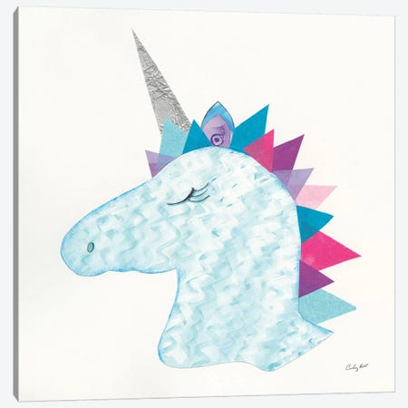 Unicorn Power II Canvas Print #WAC9287} by Courtney Prahl Canvas Art Print