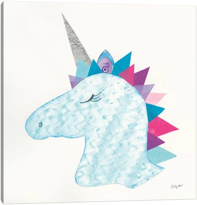 Unicorn Power II Canvas Art Print
