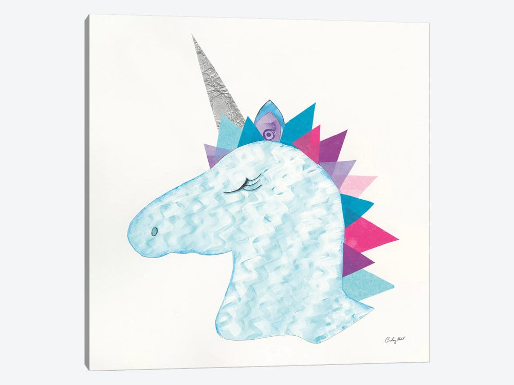 Unicorn Power II by Courtney Prahl 1-piece Canvas Print