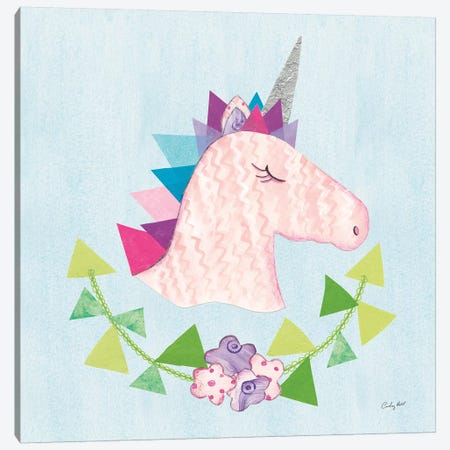 Unicorn Power III Canvas Print #WAC9288} by Courtney Prahl Canvas Wall Art