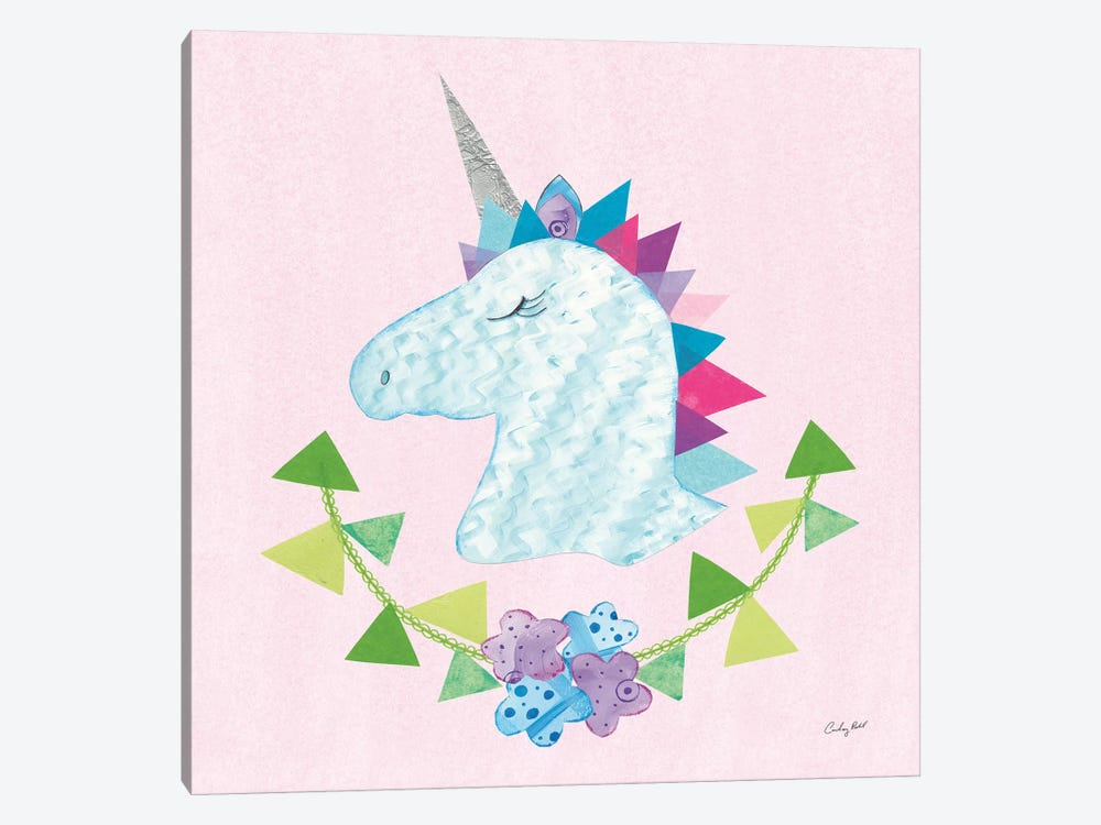 Unicorn Power IV by Courtney Prahl 1-piece Art Print