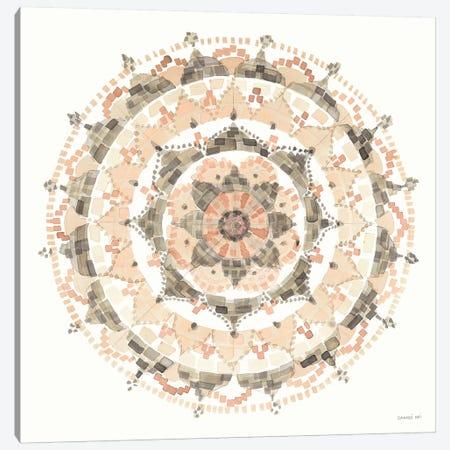 Blush Mandala 3-Piece Canvas #WAC9290} by Danhui Nai Canvas Art Print