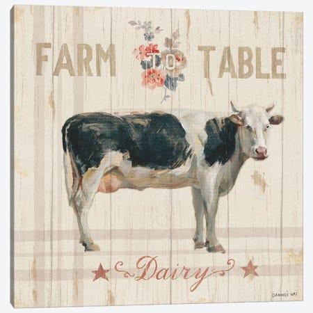 Farm Patchwork V Canvas Print #WAC9292} by Danhui Nai Art Print