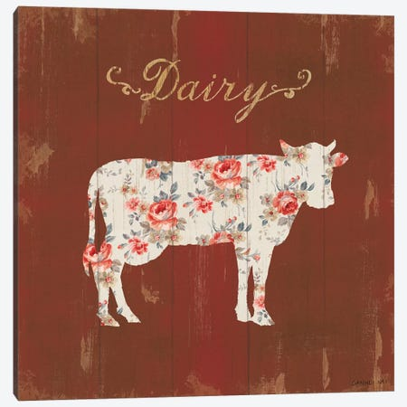 Farm Patchwork IX Canvas Print #WAC9296} by Danhui Nai Canvas Artwork