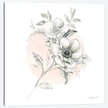 Sketchbook Garden I Canvas Print #WAC9306} by Danhui Nai Canvas Wall Art