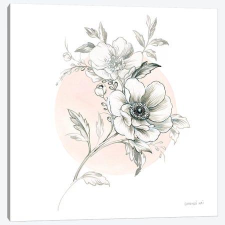 Sketchbook Garden I 3-Piece Canvas #WAC9306} by Danhui Nai Canvas Wall Art