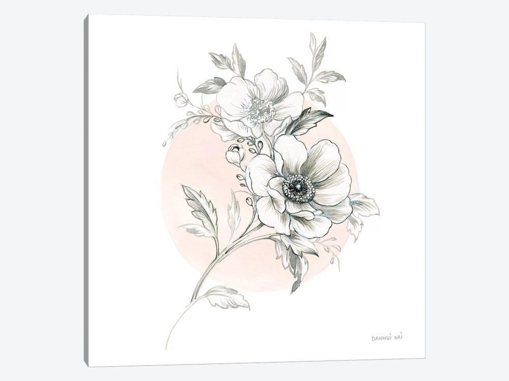 Sketchbook Garden I by Danhui Nai 1-piece Canvas Print