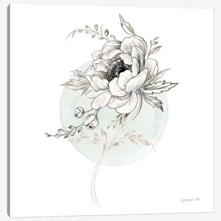 Sketchbook Garden II Canvas Print #WAC9307} by Danhui Nai Canvas Artwork