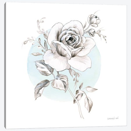 Sketchbook Garden III 3-Piece Canvas #WAC9308} by Danhui Nai Canvas Print