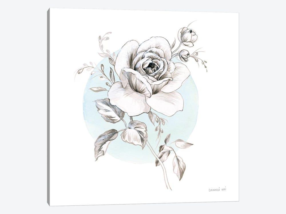 Sketchbook Garden III by Danhui Nai 1-piece Canvas Print