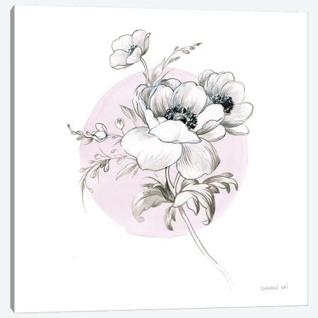 Sketchbook Garden IV Canvas Print #WAC9309} by Danhui Nai Canvas Print