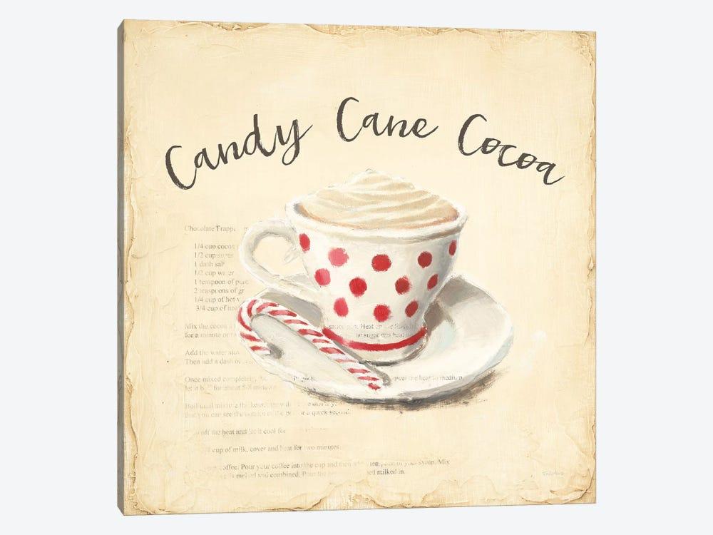 Creme de Noel Candy Cane by Emily Adams 1-piece Canvas Art