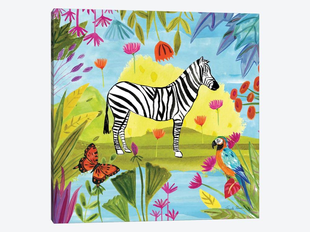 The Big Jungle III by Farida Zaman 1-piece Canvas Art Print