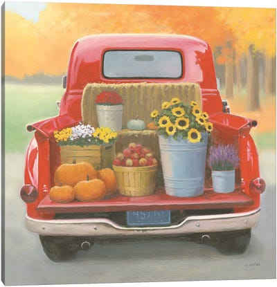 Heartland Harvest Moments I Canvas Art Print