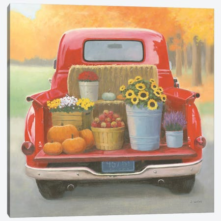Heartland Harvest Moments I Canvas Print #WAC9322} by James Wiens Canvas Print