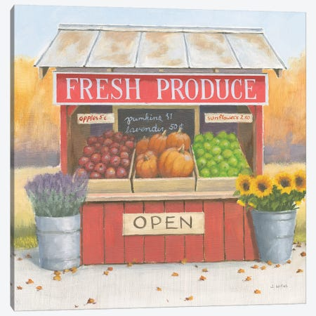 Heartland Harvest Moments II 3-Piece Canvas #WAC9323} by James Wiens Art Print