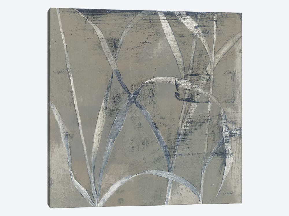 In The Garden II Gray by Kathrine Lovell 1-piece Canvas Art