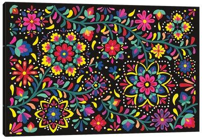 Floral Fiesta I Canvas Art Print