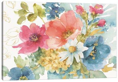 My Garden Bouquet I Canvas Art Print