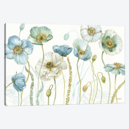 My Greenhouse Flowers I Canvas Print #WAC9359} by Lisa Audit Canvas Art