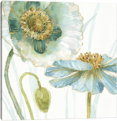 My Greenhouse Flowers V Canvas Art Print