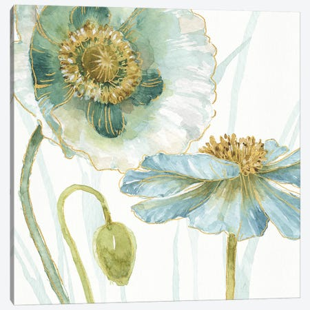My Greenhouse Flowers V 3-Piece Canvas #WAC9362} by Lisa Audit Canvas Art Print