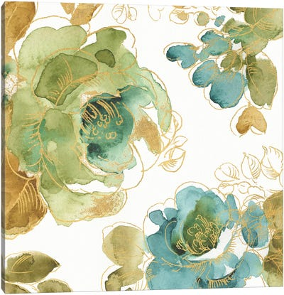 My Greenhouse Roses II Canvas Art Print