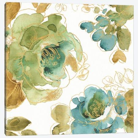My Greenhouse Roses II Canvas Print #WAC9363} by Lisa Audit Art Print