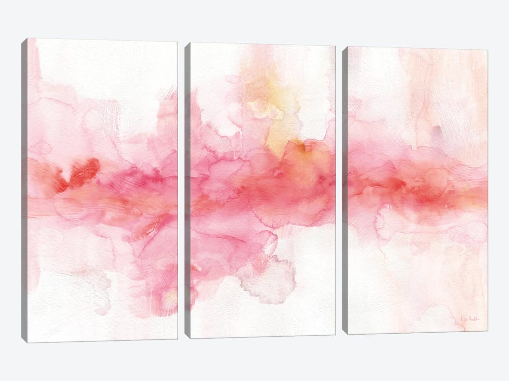 Rainbow Seeds Abstract by Lisa Audit 3-piece Canvas Art