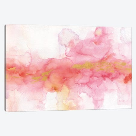 Rainbow Seeds Abstract Gold Canvas Print #WAC9366} by Lisa Audit Canvas Wall Art
