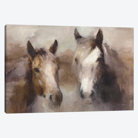 Blazing The West (Neutral) Canvas Print #WAC9373} by Marilyn Hageman Canvas Art