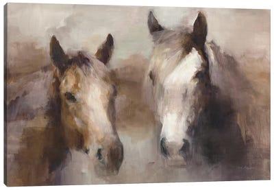Blazing The West (Neutral) Canvas Art Print