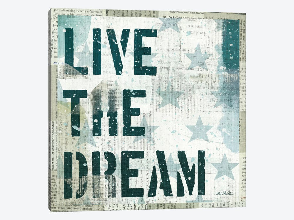 American Dream I by Michael Mullan 1-piece Canvas Artwork