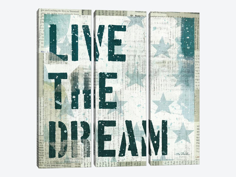 American Dream I by Michael Mullan 3-piece Canvas Art