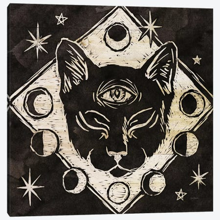 Mystical Halloween Wood IV Canvas Print #WAC9381} by Mary Urban Art Print