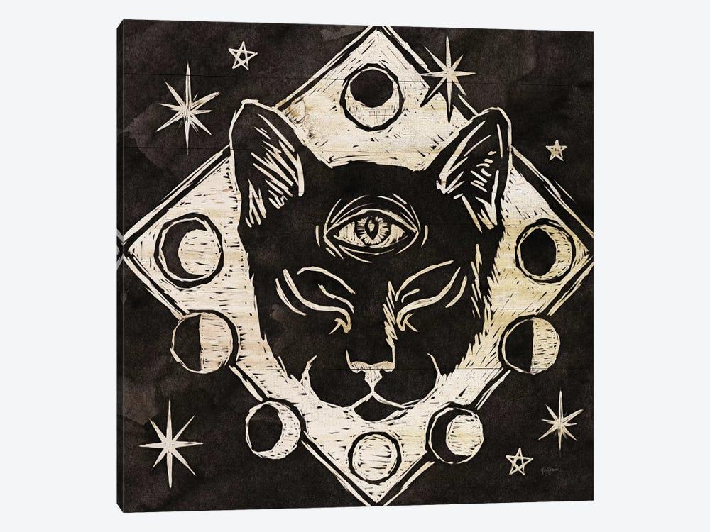 Mystical Halloween Wood IV by Mary Urban 1-piece Canvas Art