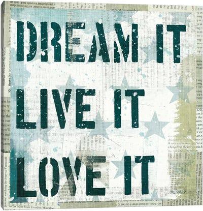 American Dream II Canvas Print #WAC938