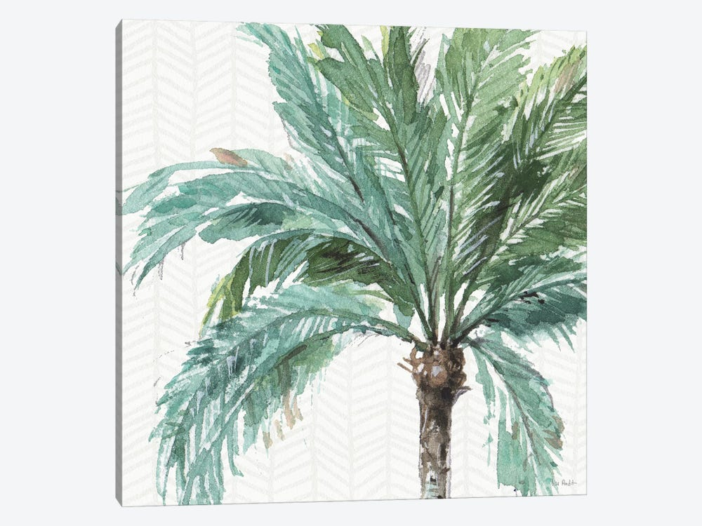 Mixed Greens IV by Lisa Audit 1-piece Canvas Wall Art