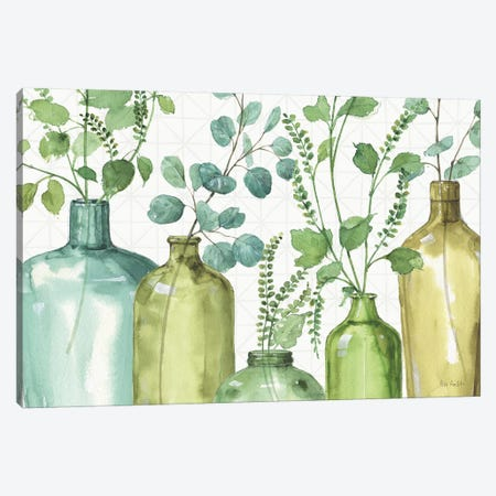Mixed Greens L Canvas Print #WAC9407} by Lisa Audit Canvas Print