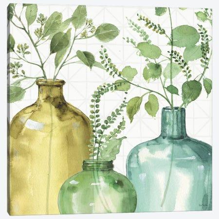 Mixed Greens LV Canvas Print #WAC9408} by Lisa Audit Canvas Wall Art