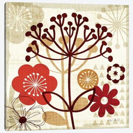 Floral Pop II S Canvas Print #WAC940} by Michael Mullan Canvas Print