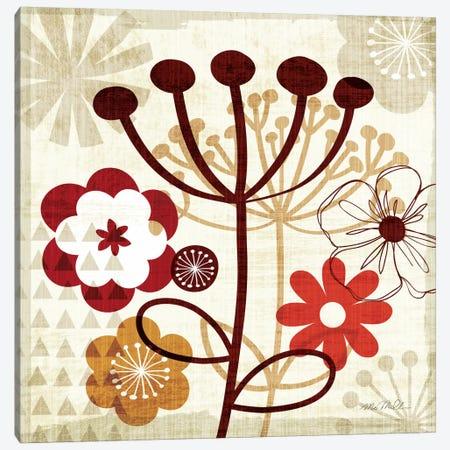 Floral Pop III  Canvas Print #WAC941} by Michael Mullan Canvas Print