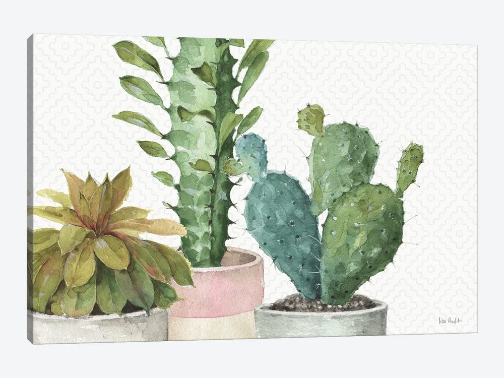Mixed Greens XXXIII by Lisa Audit 1-piece Canvas Artwork