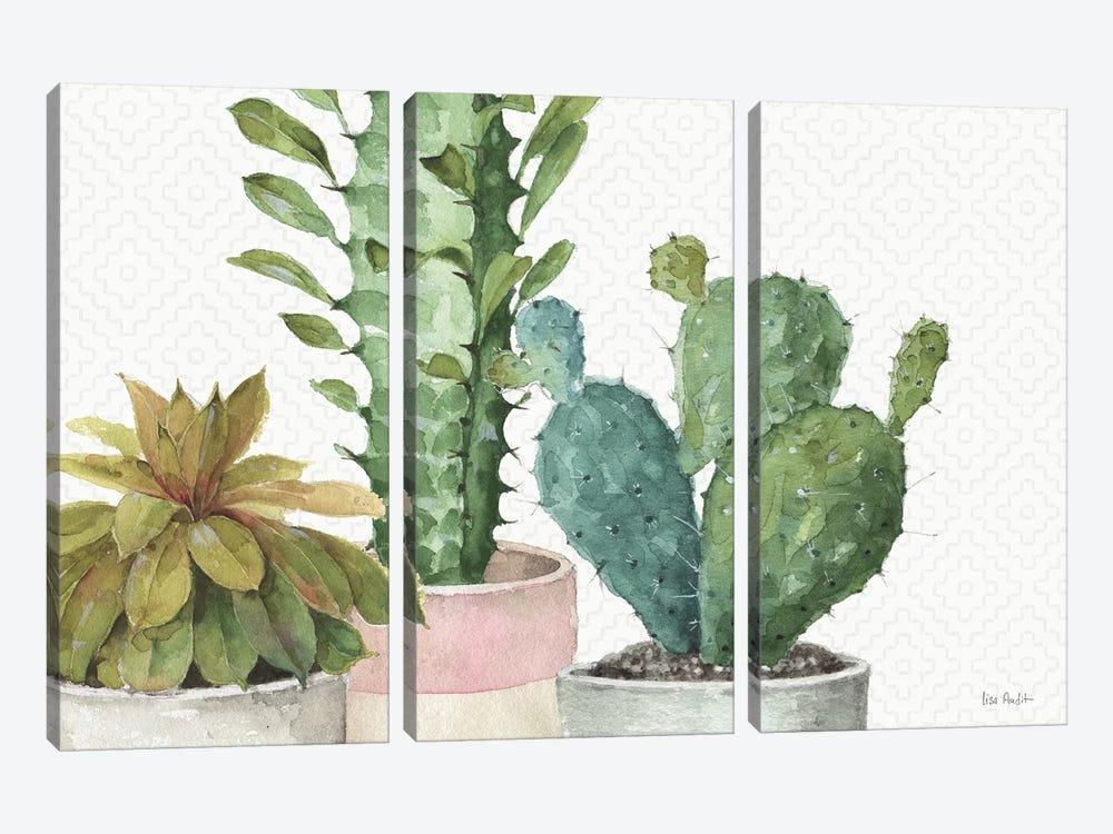 Mixed Greens XXXIII by Lisa Audit 3-piece Canvas Artwork