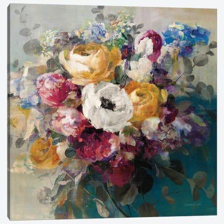 Fall Bouquet Canvas Print #WAC9424} by Danhui Nai Canvas Print