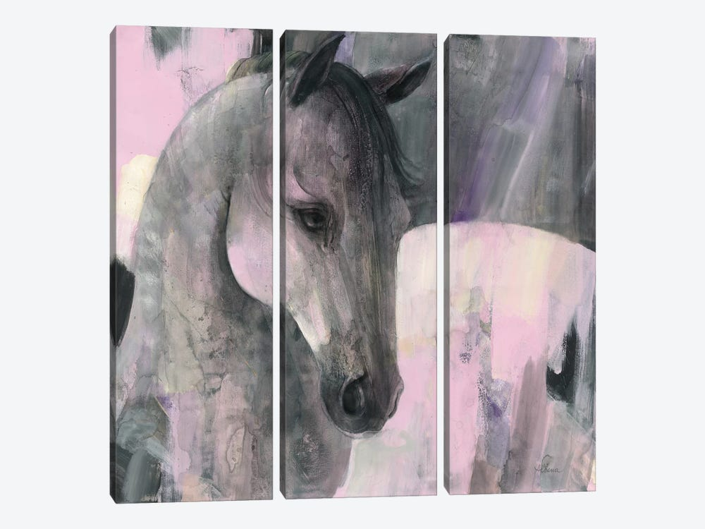Gallant by Albena Hristova 3-piece Canvas Wall Art