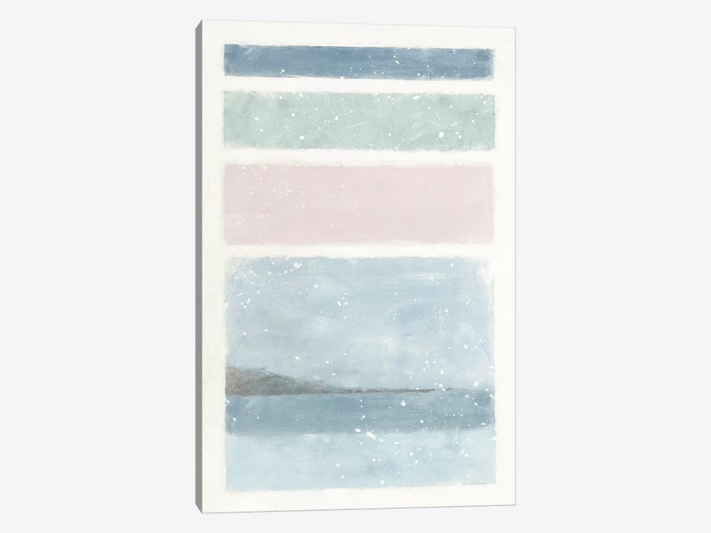 Layers by Moira Hershey 1-piece Canvas Art