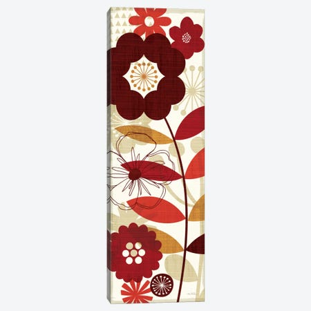 Floral Pop Panel I Canvas Print #WAC944} by Michael Mullan Canvas Art