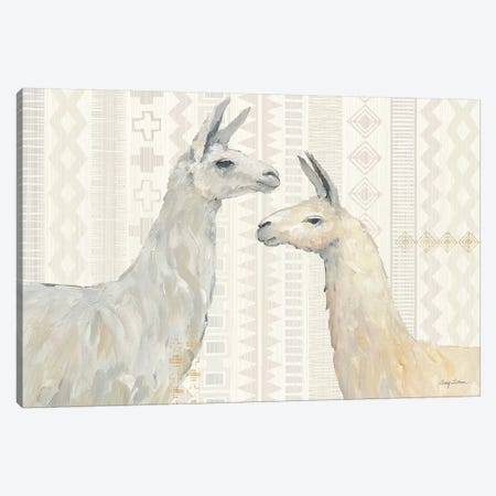 Llama Land I Canvas Print #WAC9457} by Avery Tillmon Canvas Artwork