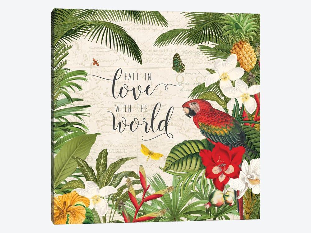 Parrot Paradise V by Katie Pertiet 1-piece Art Print